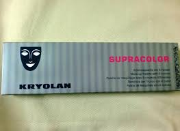 kryolan professional make up supracolor makeup palette with 6 colours