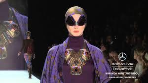 miranda konstantinidou miranda konstantinidou mercedes fashion week berlin a w