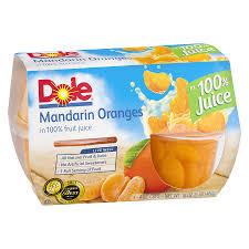 dole fruit bowls dole fruit bowl mandarin oranges walgreens