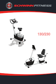 schwinn exercise bike 230 user guide manualsonline com