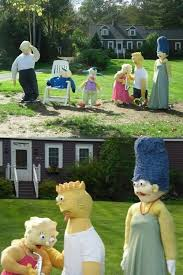 simpsons decorations giving up in style