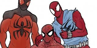 spider man 2017 animated series feature trio wall