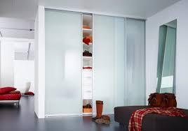 Bedroom Closet Sliding Doors Bedroom Ceiling To Floor Glass Frosted Closet Sliding Doors As