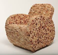 request how many bottles of wine corks would it take to make this chair