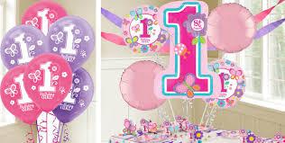 1st birthday balloon delivery sweet girl 1st birthday balloons party city balloon globos