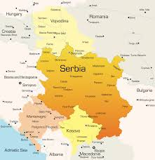 Europe On Map by Talas S Leading Dmc And Pco For Serbia