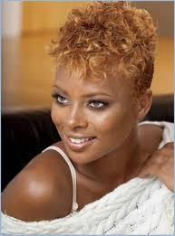 short hairstyles for round black faces short curly hairstyles for