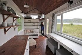 Four Lights Tiny House Beautiful 24 Foot Tiny House Tour With Free Plans Ana White Tiny