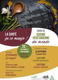 cours de cuisine vegetarienne cuisine végétarienne du monde mission caleb