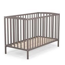 chambre bébé taupe et at4 lit bébé à barreaux 60x120 cm gris taupe gris et taupe achat