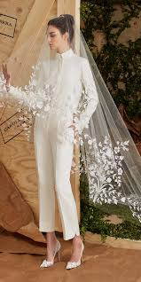 wedding dress jumpsuit 28 gorgeous wedding pantsuits and jumpsuits for brides deer