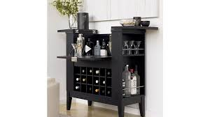 Black Bar Cabinet Spirits Cabinet In Bar Cabinets Bar Carts Reviews
