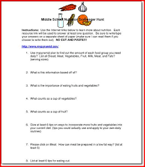 ideas collection middle health worksheets with additional