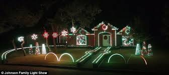 johnson family christmas lights san antonio family forced to turn off christmas lights because too