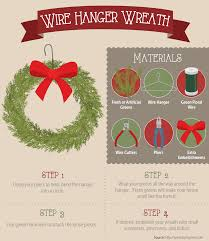 making christmas crafts homemade wire hanger wreath crafts