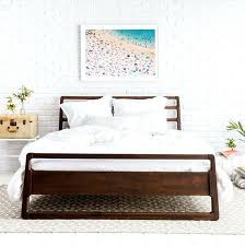 black wood bed frames bedding giveaway wood bed wooden slat bed