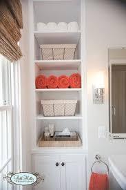 Decorating Bathroom Shelves Best 25 Bathroom Built Ins Ideas On Pinterest Bathroom Closet