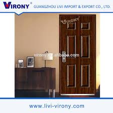 2017 new design modern design bedroom interior safety wooden door