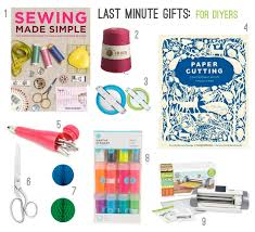 last minute gifts for the big list of last minute gifts paper and stitch
