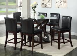 tall dining room sets hokku designs ollivander 7 piece counter height dining set