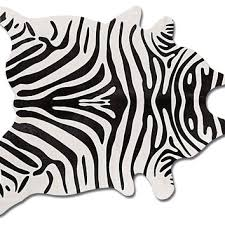 best zebra hide rug products on wanelo