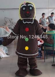 Halloween Costumes Gingerbread Man Cheap Gingerbread Man Costume Aliexpress