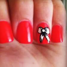 christmas present nail design holiday season nail art