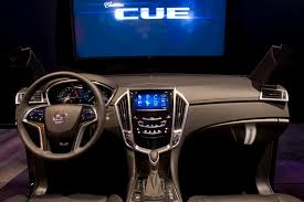 cadillac srx cue system cadillac cue infotainment system in 2012 xts interior revealed