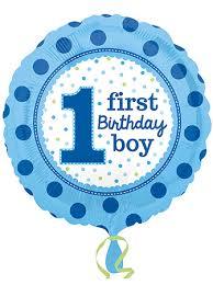 1st birthday boy 1st birthday boy balloons