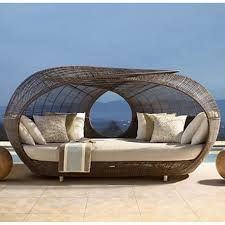 outdoor furniture round lounge chair home chair decoration