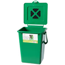 compost cuisine kitchen compost bin 9 1 l trash cans wheeled bins canac