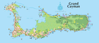 Map Of The Caribbean Island by Full Size Grand Cayman Island Map