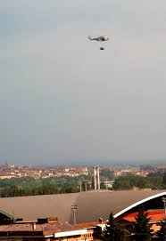lamborghini helicopter lamborghini reventon flies over turin in military helicopter