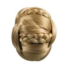 hair bun clip chignon hair bun clip in synthetic braided