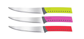 Coloured Kitchen Knives Amazoncom Vremi 10 Colorful Knife Set 5 Kitchen Knives