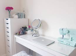 Ikea Malm Vanity Table Ikea Malm Makeup Desk Make Up And Space Hello Deborah Dressing