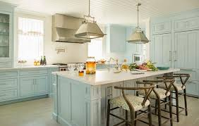 Blue Kitchens With White Cabinets White Lacquer Kitchen Cabinets Contemporary Kitchen Beauti