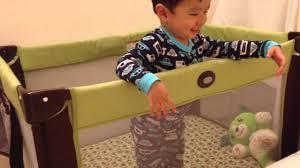 Graco Crib Mattress Size by Graco Pack U0027n Play On The Go Travel Playard Youtube