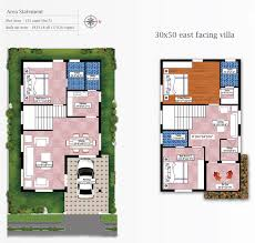 home design 20 50 30 by 50 house plans india