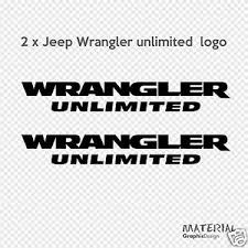 jeep wrangler sahara logo 2x jeep wrangler unlimited logo sticker decal moab sahara rubicon