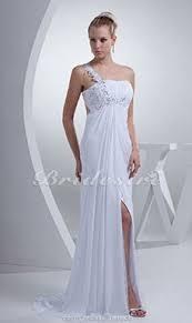 etui linie u boot ausschnitt sweep pinsel zug chiffon brautkleid mit perlen verziert p270 bridesire etui linie gerade geschnittene brautkleider 2017