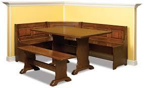 novel modern beech wood dining set kitchen booth breakfast nook