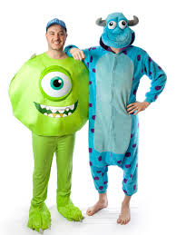 mike and sulley couple costume creative costumes