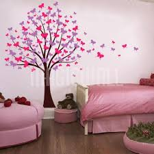 butterfly tree trailing butterflies wall decals stickers tattoos