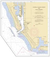 Channel Islands Map Channel Islands Harbor And Port Hueneme Nautical Chart νοαα