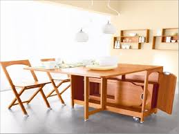 Folding Dining Table For Small Space Space Saving Folding Dining Room Table Barclaydouglas