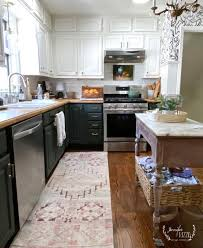 green lower white kitchen cabinets painting bottom kitchen cabinets green rizzo