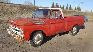 Old Ford Unibody Truck - o can a da 1961 mercury m 100 unibody