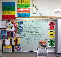 art classroom ideas with additional expressive children board