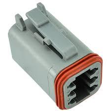 deutsch dt 6 way plug connector dt06 6s ships same day